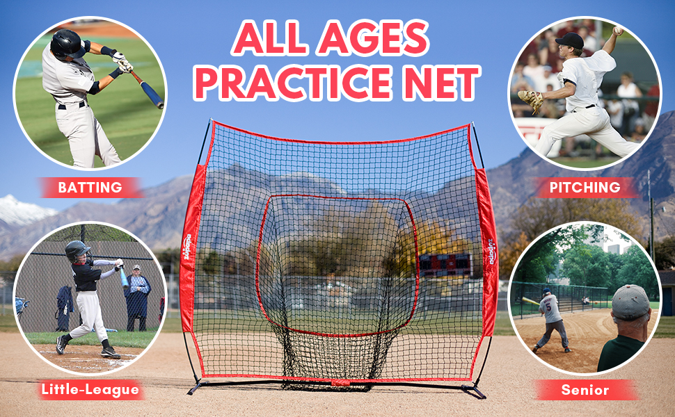 baseball softball net for kids adults