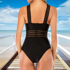 Tummy Control Monokini Bathing Suits