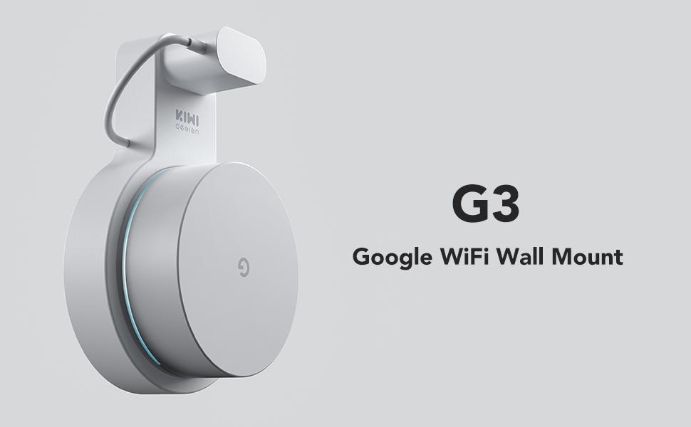KIWI design 3 Pack Google WiFi Soporte, Soporte de Pared para ...