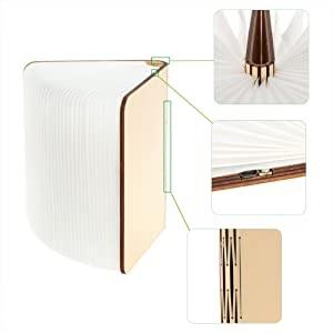 book lamp folding