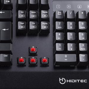 Hiditec | Teclado Gaming con Cable GK500 | Teclado Gamer ...