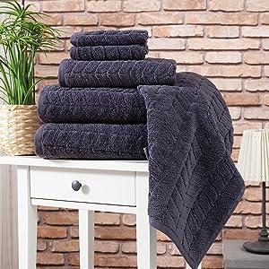 6 pcs set of towel