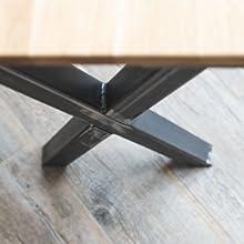 Montage tafelpoten van Holzbrink - stap 4