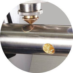 fiber laser cutting of steel pipes