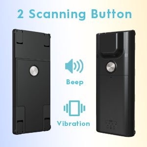wireless bluetooth barcode scanner bar code USB mini portable upc inventory warehouse library