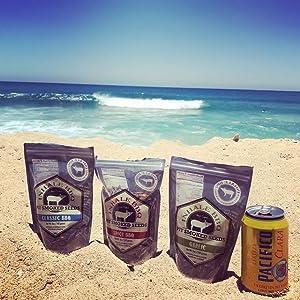 inhale bbq seeds at beach
