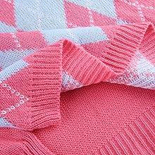 V-neck plaid sweater vest