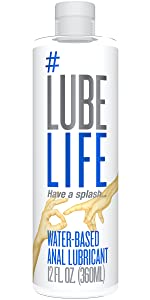 anal sex, anal lubricant, water based lubricant, lube, lubes, personal lubricant
