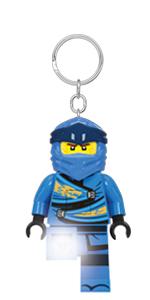 LEGO Ninjago Legacy Jay Minifigure Key Light keychain Ninja