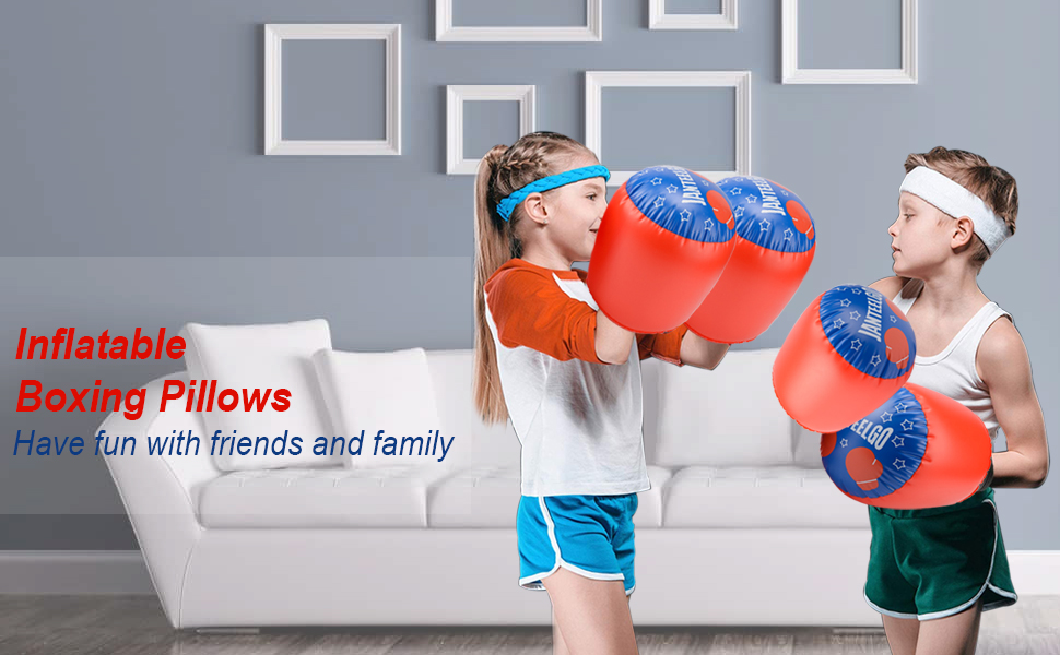 inflatable boxing pillows