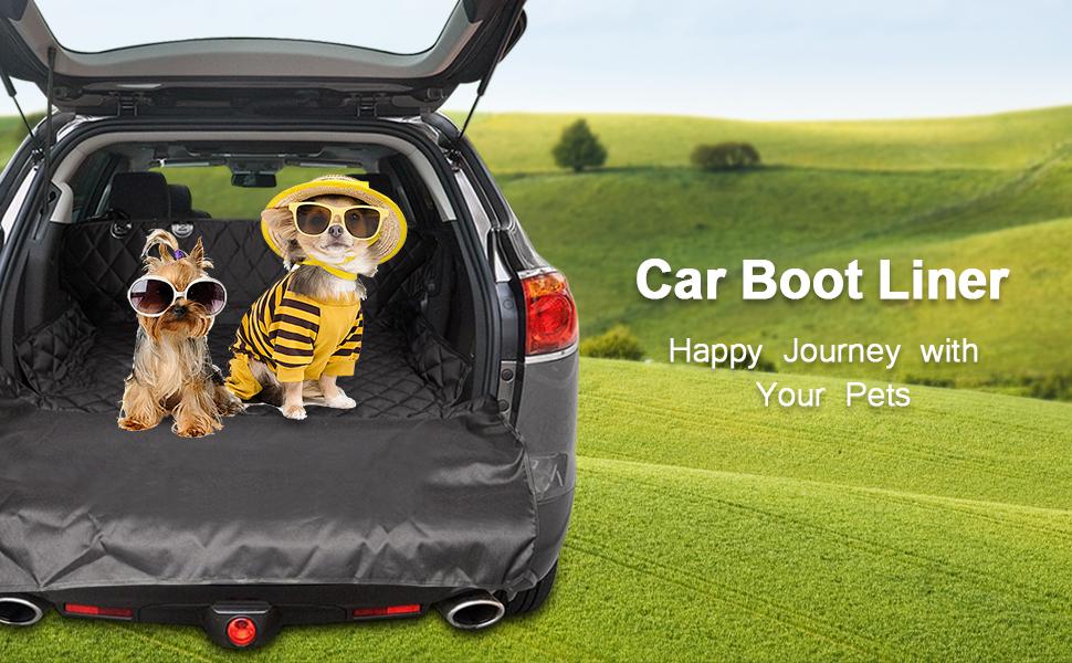 Zellar Dog Car Boot Cover