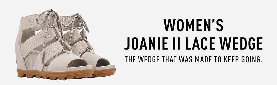 Joanie II Lace Wedge
