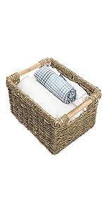 High Seagrass basket storages