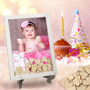 Guest book alternatives for baby birthday