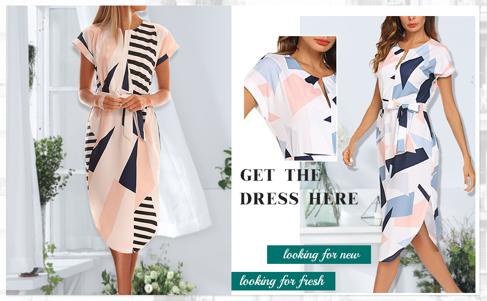 navy blue and pink dresses for women dress for women work casual midi length office dress for women