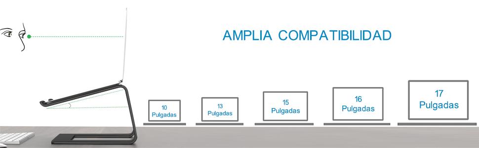 Amplia compatibilidad