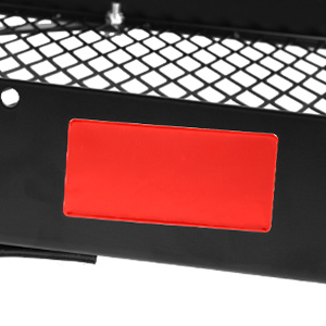 2 Red Reflector
