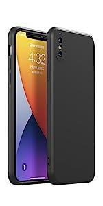 iPhone 11 Pro Max Liquid Silicone Case Full Body Covered Drop Protection Case Square Edge Design
