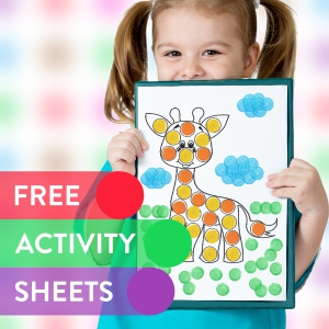 activity sheets for boys and girls