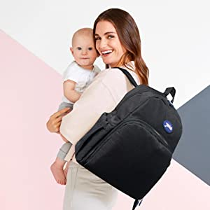 Mother travel backpack