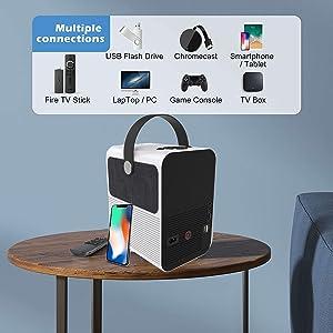 proyector con hdmi, usb multimedia, ac3, proyector con dolby digital, proyector ac3, proyector ps5