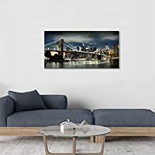 Skylines Reflections in New York Artwork for Office Living Rooms