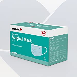 byd, byd care, byd cares, face mask, surgical mask, medical mask, 3 ply mask