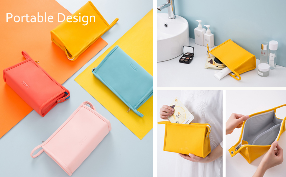 5cosmetic bag set of 3   zipper bag set   toiletry bag small women  travel cosmetic pouch
