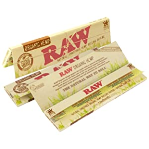 Raw Organic Rolling Papers King Size