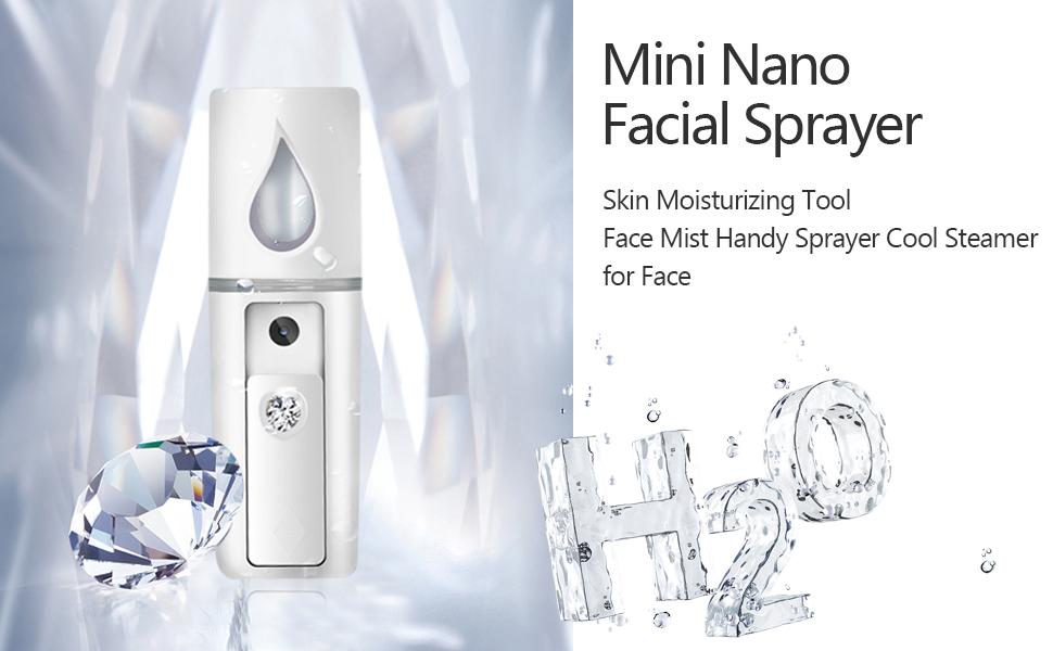Face Mists facial steamers cool shrink pores moisturize improve skin dry skin oil skin