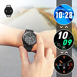 smart watch as dial