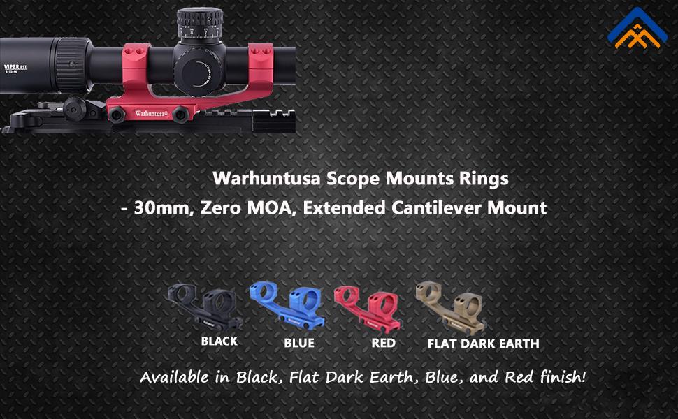 picatinny scope mount 30mm