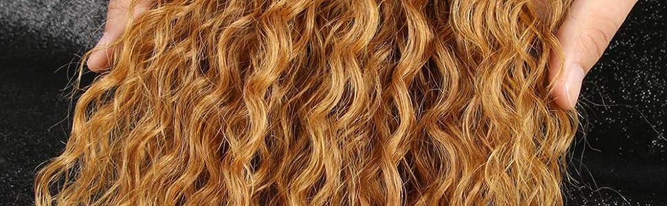 Ombre blonde color