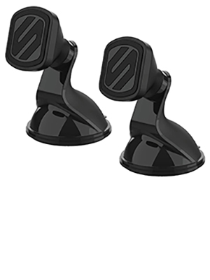 SCOSCHE MMWSM-2PKXCES0 MagicMount Magnetic Suction Cup Mount (Pack of 2)