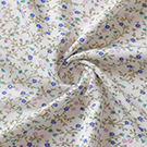 bamboo robe with floral print