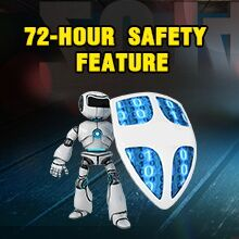72-HOUR SAFETY FEATURE
