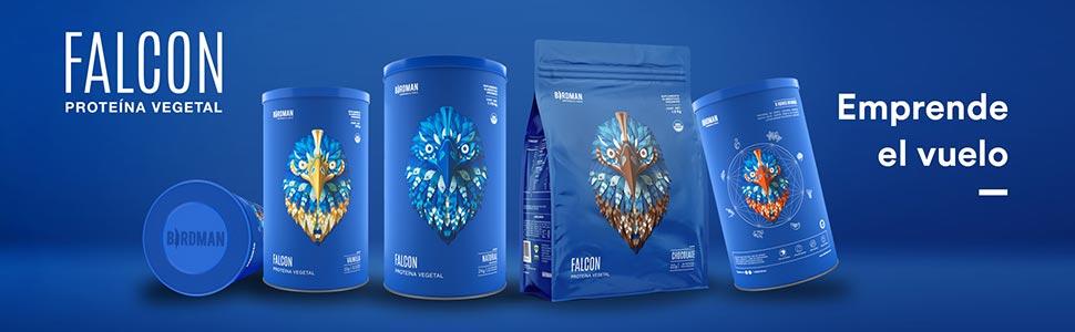 proteína orgánica, emprende el vuelo, falcon protein, proteína vegana, proteína sin gluten, proteína