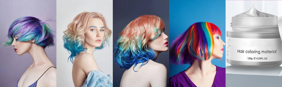 hair dye wax