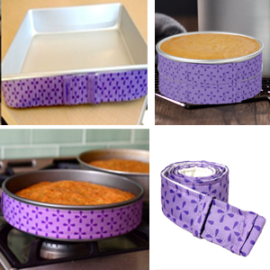 Fit different size cake pan