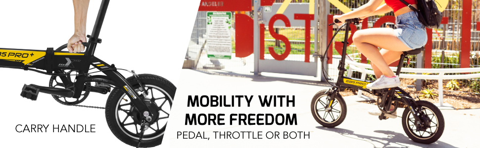 MOBILITY WITH MORE FREEDOM