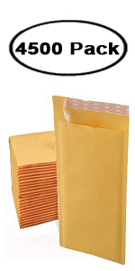 """Self Seal Mailers Bags 1250 Pcs Poly Bubble Padded Envelopes 6.5/"""" x 8.5/"""" #CD"""