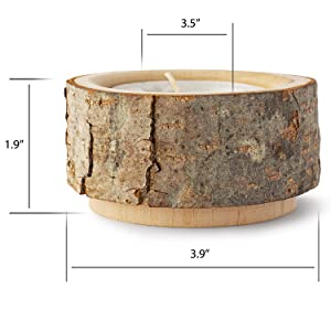 Candle holders Tealight candle holder Tea candle holder Rustic candle holders Rustic unity holder