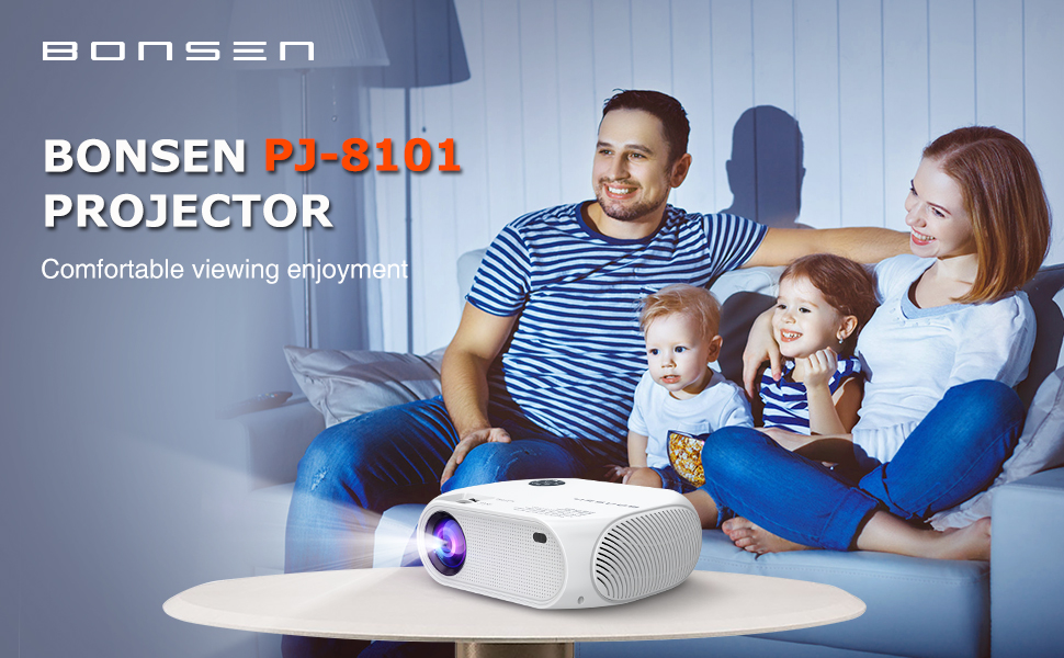 BONSEN projector for home movie theater