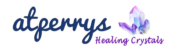 atperrys healing crystals logo amazon