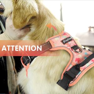 Arnes para Perros Arnes Anti-Tirones Suave Ajustable Color Rosa ...