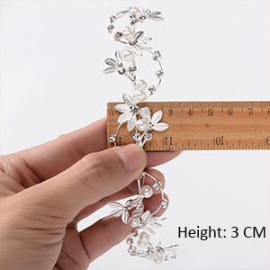 Leaf Crystal Bridal Headpiece