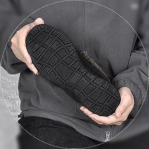 Anti skid rubber sole