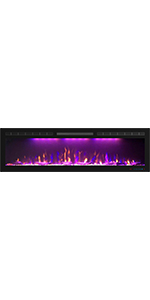 """60"""" Electric Fireplace"""