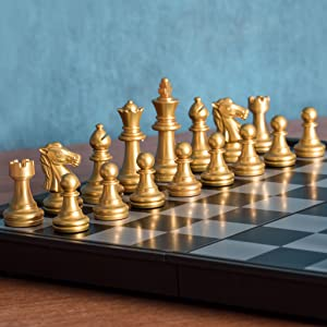 Magnetic Travel Chess Set (9.7 Inches)
