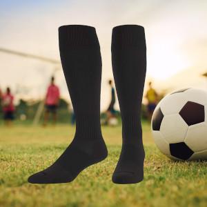 TCK Soccer Socks with Stripes Extra Cross-Stretch for Shin Guards Men or Women for Boys or Girls